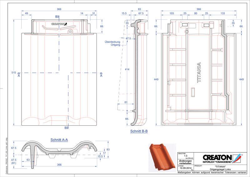 Produkt CAD-Datei TITANIA Ortgang links OGL