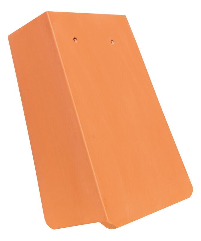 AMBIENTE Geradschnitt Ortgangziegel 1 1/4 rechts mit langem Seitenlappen ca. 11 cm