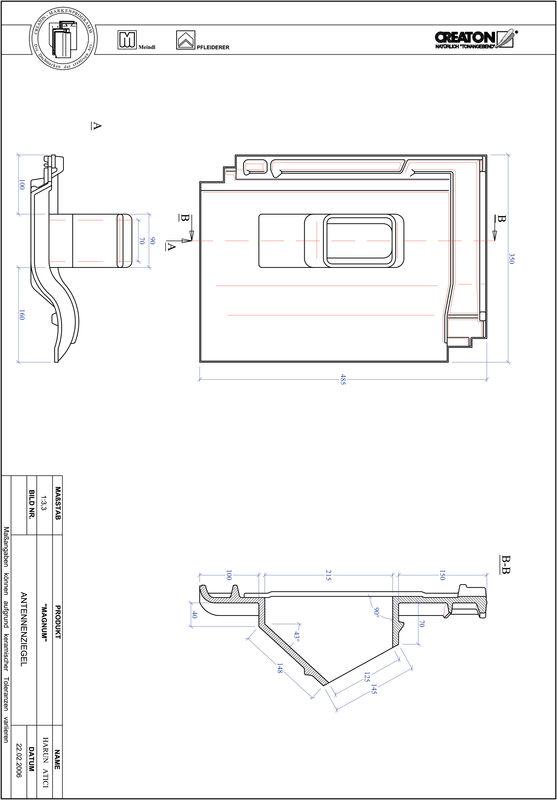 Produkt CAD-Datei MAGNUM Antenne ANTENNE