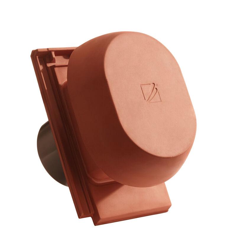 DOM SIGNUM keramischer Wrasenlüfter DN 200 mm inkl. Unterdachanschlussadapter