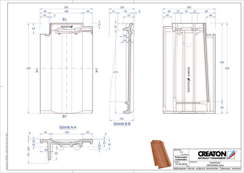 Produkt CAD-Datei CANTUS Ortgang links OGL