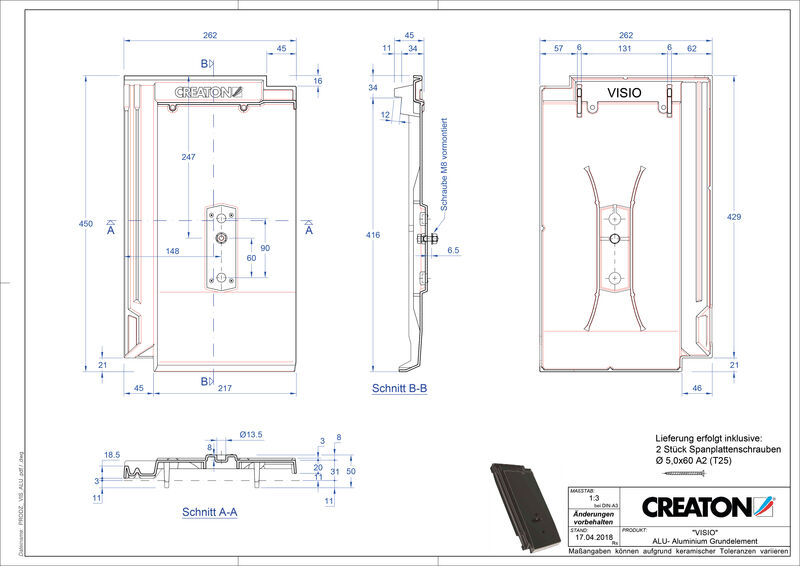 Produkt CAD-Datei VISIO Grundalu GRUNDALU