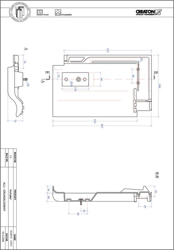 Produkt CAD-Datei FUTURA Grundalu GRUNDALU