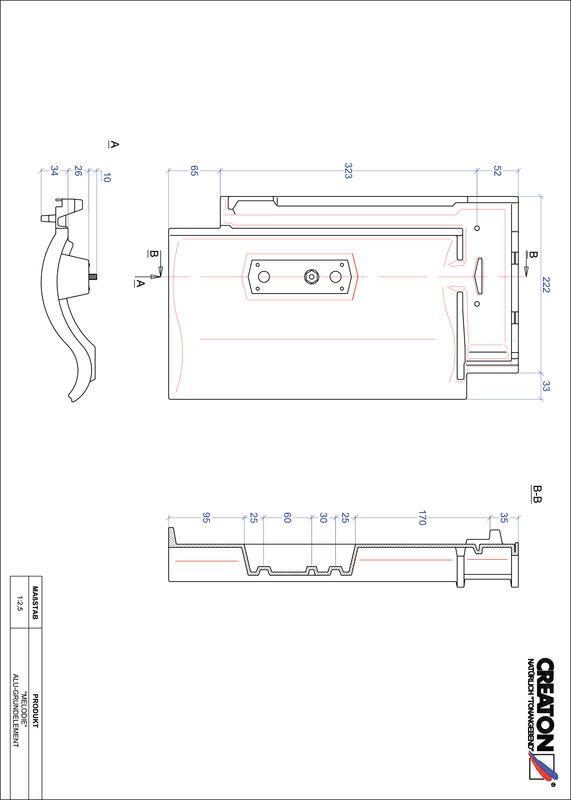 Produkt CAD-Datei MELODIE Grundalu GRUNDALU