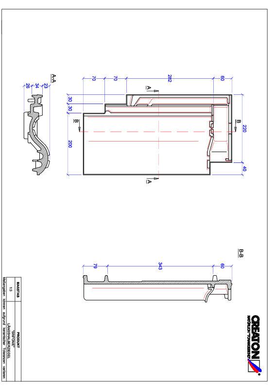 Produkt CAD-Datei SINFONIE Längshalber LH