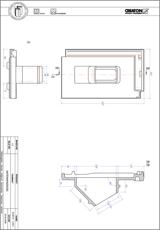 Produkt CAD-Datei DOMINO Antenne ANTENNE