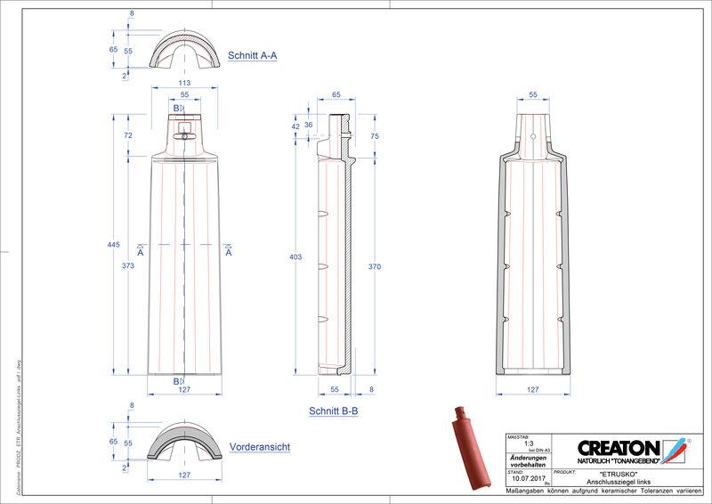 Produkt CAD-Datei ETRUSKO Anschlussziegel ABSCHLZ-links