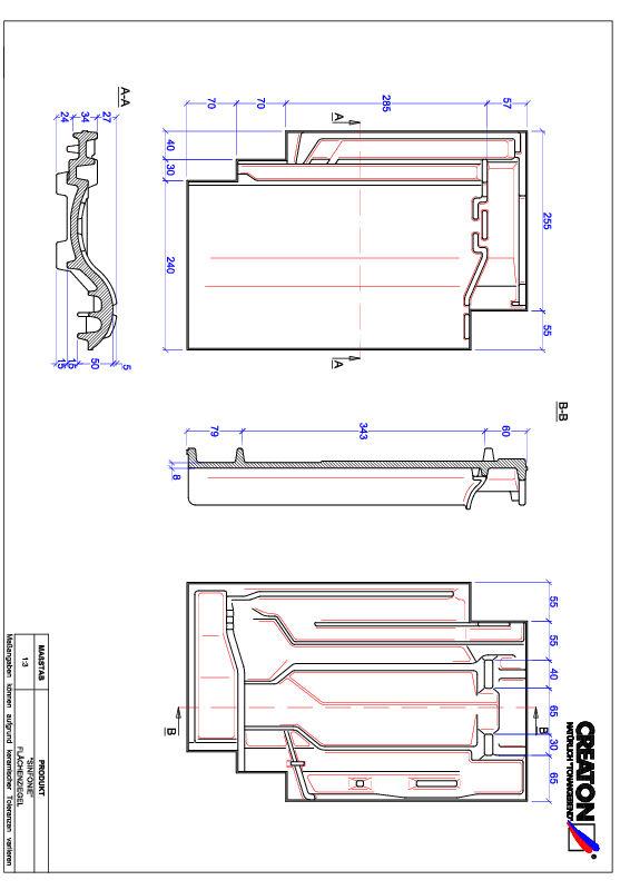 Produkt CAD-Datei SINFONIE Fläche FLA