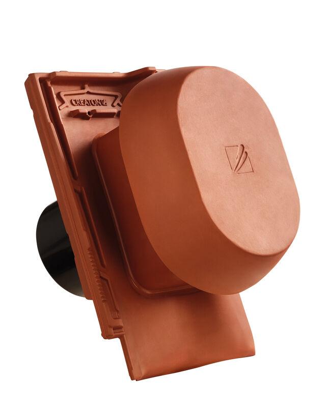 MZ3 NEU SIGNUM keramischer Wrasenlüfter DN 150/160 mm inkl. Unterdachanschlussadapter