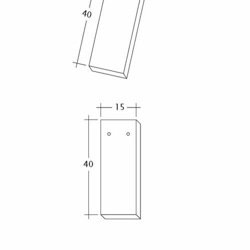 Produkt technische Zeichnung AMBIENTE Ger-3-4