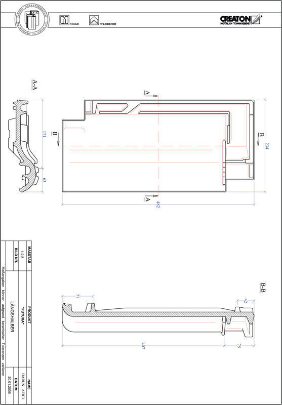 Produkt CAD-Datei FUTURA Längshalber LH