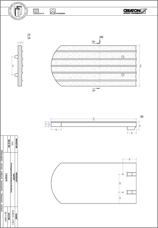 Produkt CAD-Datei ANTIK Korbbogenschnitt KORB-ERHO