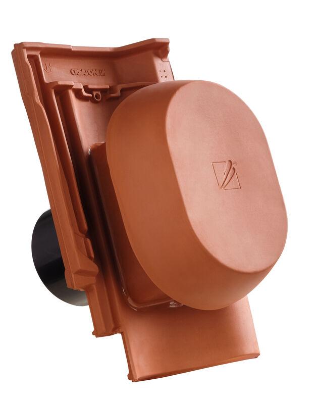 SIN SIGNUM keramischer Wrasenlüfter DN 150/160 mm inkl. Unterdachanschlussadapter
