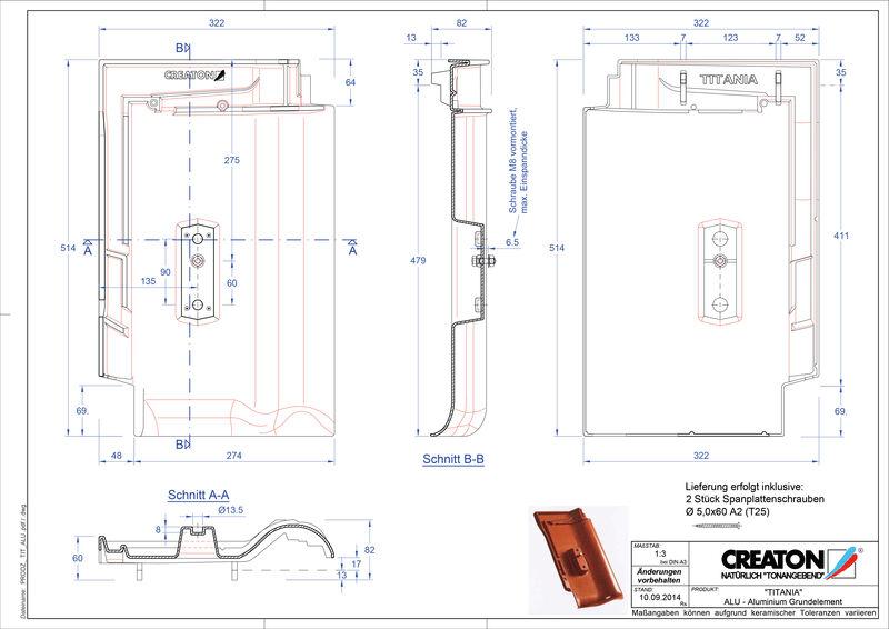 Produkt CAD-Datei TITANIA Grundalu GRUNDALU
