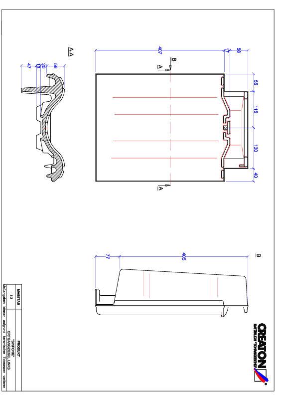 Produkt CAD-Datei SINFONIE Ortgang links OGL