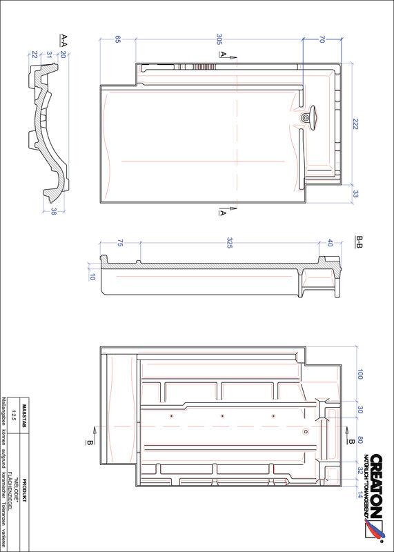 Produkt CAD-Datei MELODIE Fläche FLA