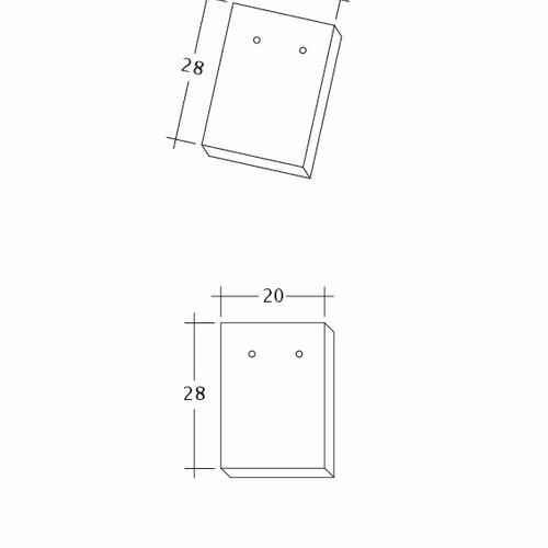 Produkt technische Zeichnung AMBIENTE Ger-Traufziegel