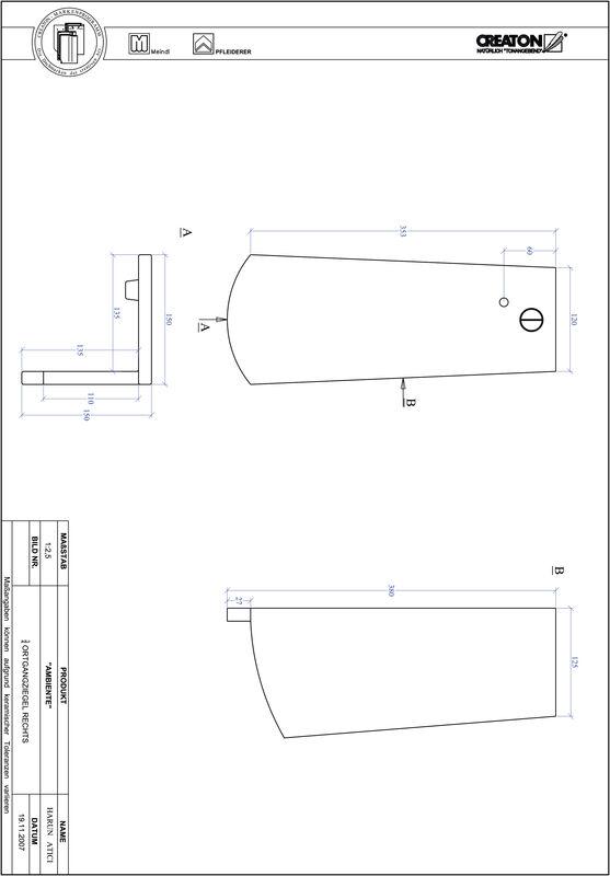 Produkt CAD-Datei AMBIENTE Segmentschnitt SEG-OGR-3-4