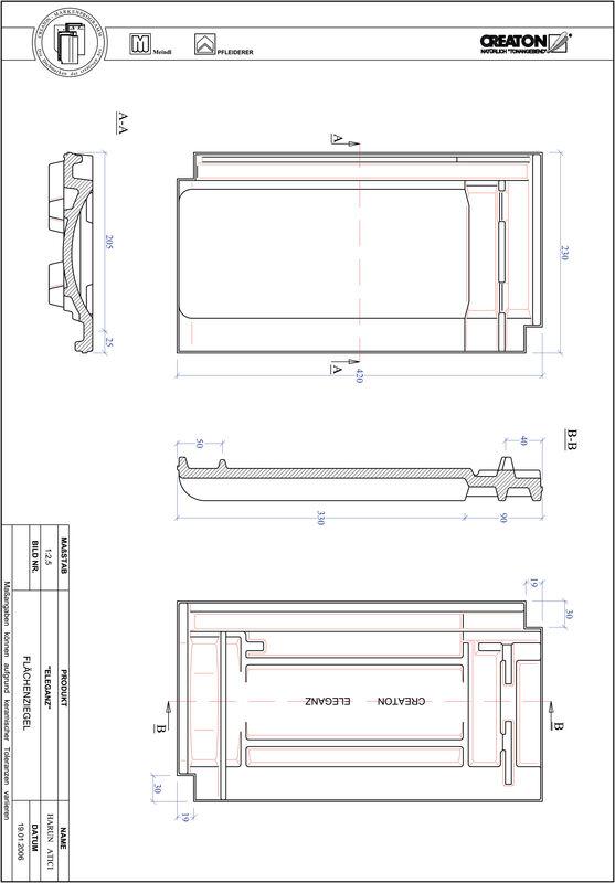 Produkt CAD-Datei ELEGANZ Fläche FLA