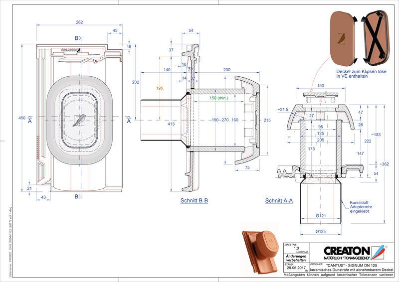 Produkt CAD-Datei CANTUS Signum 125