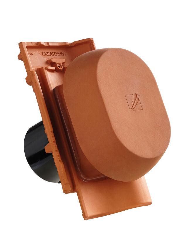 MEL SIGNUM keramischer Wrasenlüfter DN 150/160 mm inkl. Unterdachanschlussadapter