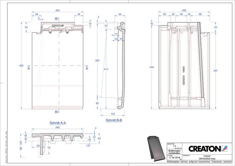 Produkt CAD-Datei VISIO Ortgang links OGL