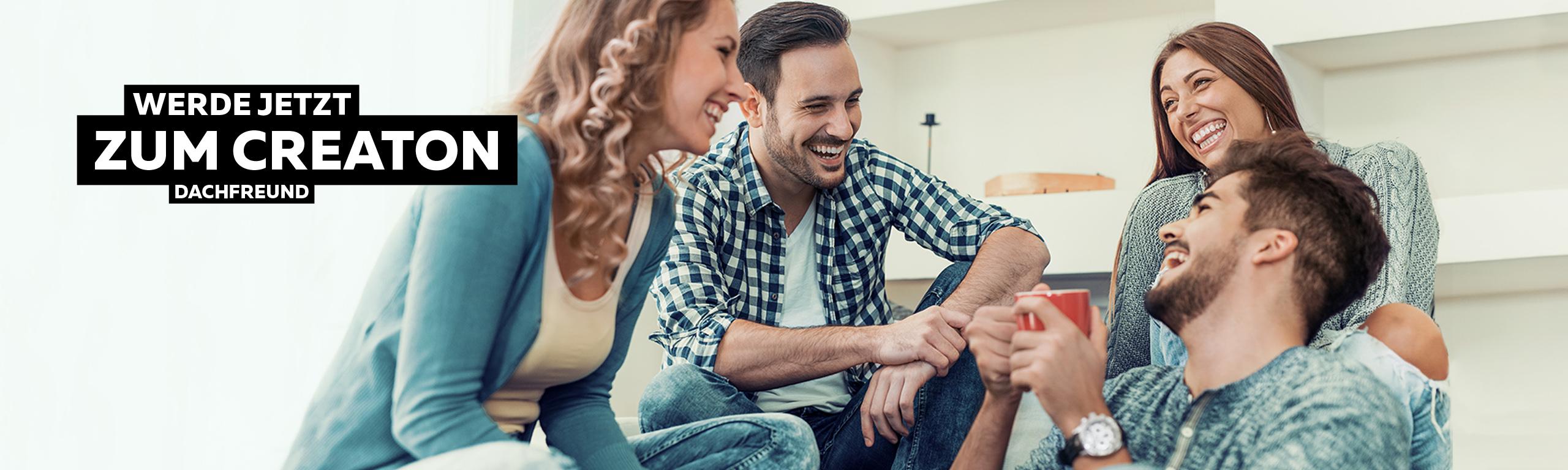 Dachfreunde - Werde jetzt zum CREATON Dachfreund