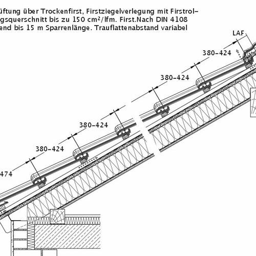 Produkt technische Zeichnung TITANIA DQL DQL