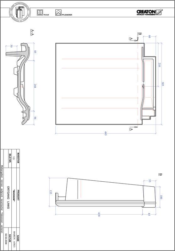 Produkt CAD-Datei MAGNUM Ortgang links OGL