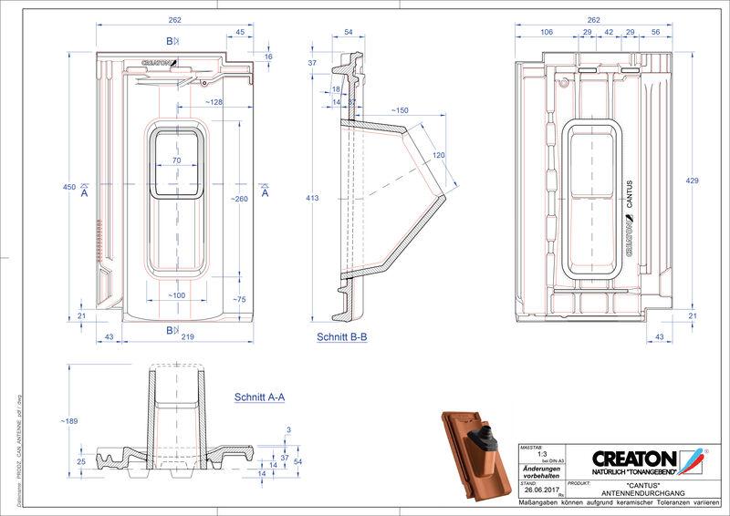 Produkt CAD-Datei CANTUS Antenne ANTENNE