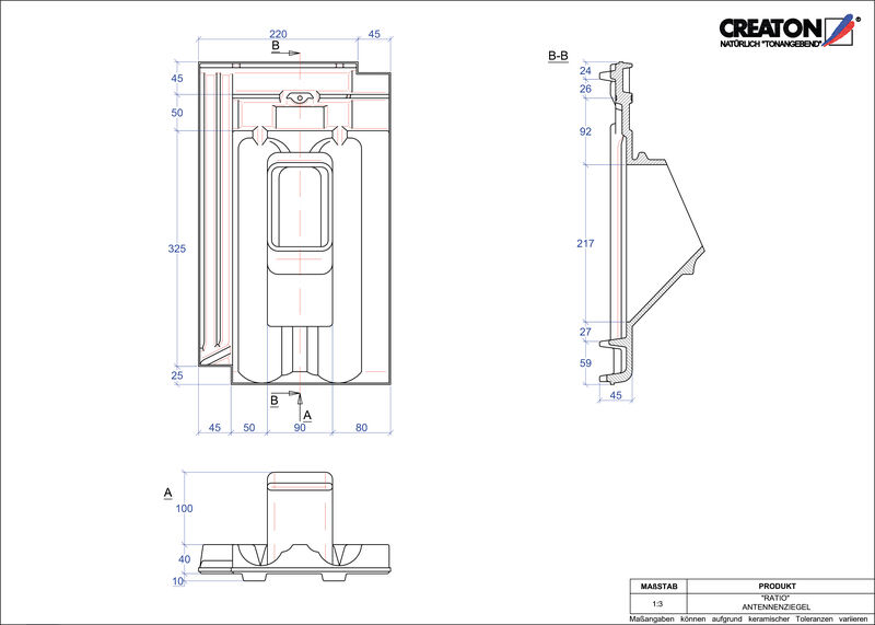 Produkt CAD-Datei RATIO Antenne ANTENNE