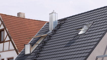 Dachbegehungssystem HEIDELBERG universal dunkelgrau
