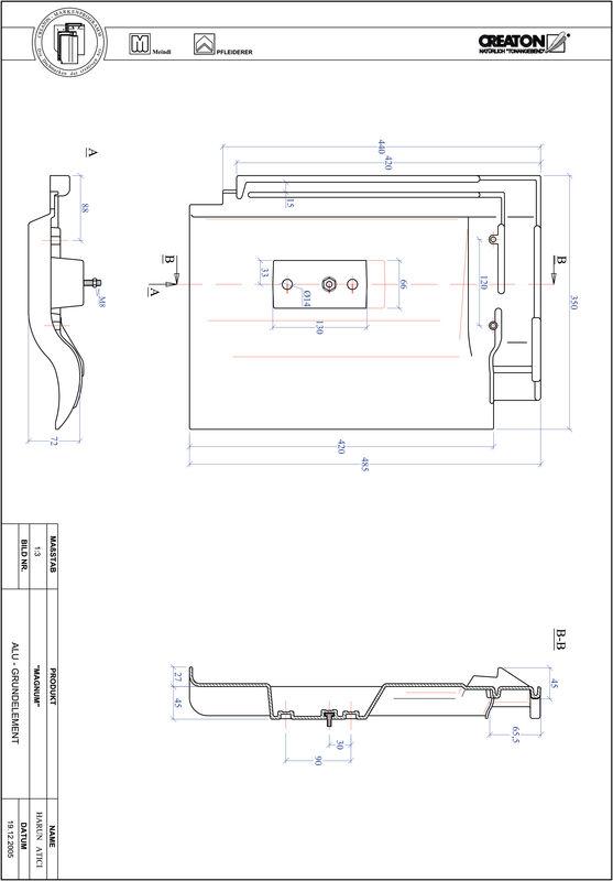 Produkt CAD-Datei MAGNUM Grundalu GRUNDALU