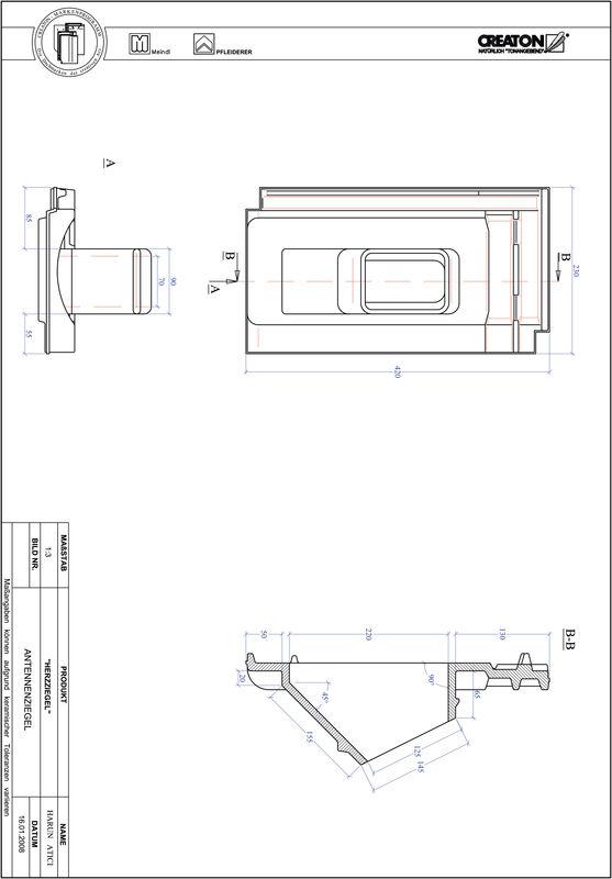 Produkt CAD-Datei HERZZIEGEL Antenne ANTENNNE