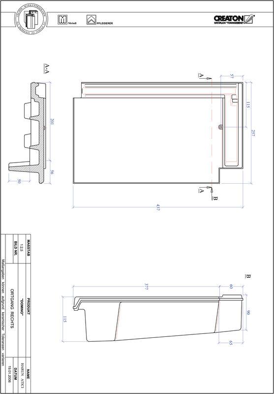 Produkt CAD-Datei DOMINO Ortgang rechts OGR