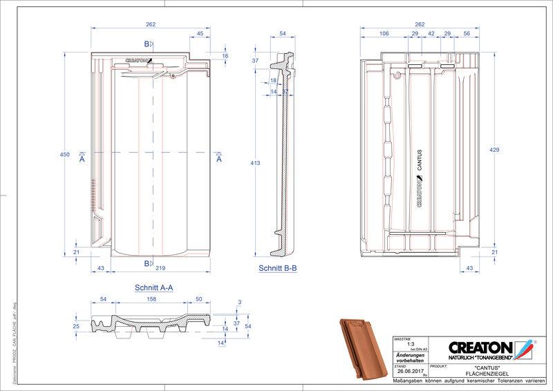 Produkt CAD-Datei CANTUS Fläche FLA