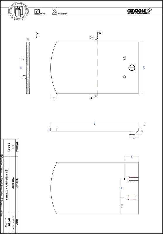 Produkt CAD-Datei AMBIENTE Segmentschnitt SEG-1-1-4