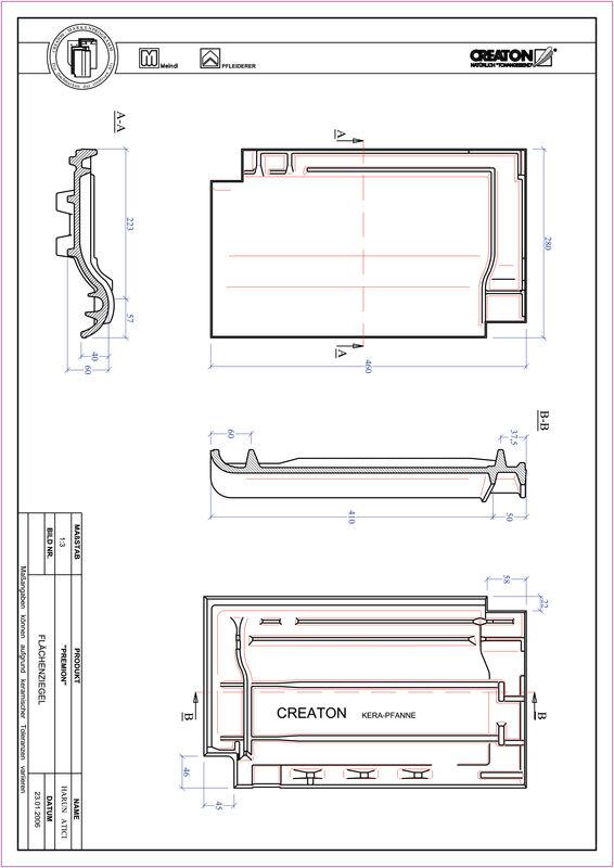 Produkt CAD-Datei PREMION Fläche FLA