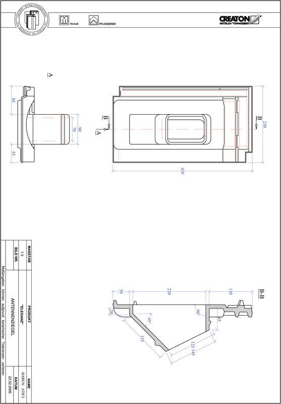 Produkt CAD-Datei ELEGANZ Antenne ANTENNE