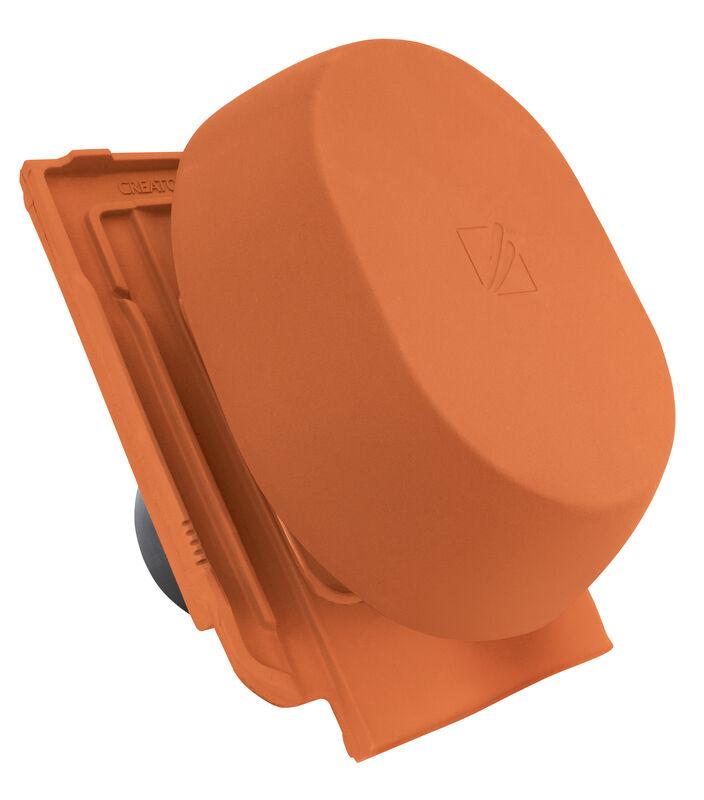 HAR SIGNUM keramischer Wrasenlüfter DN 150/160 mm inkl. Unterdachanschlussadapter