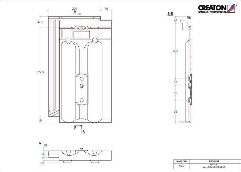 Produkt CAD-Datei RATIO Grundalu GRUNDALU
