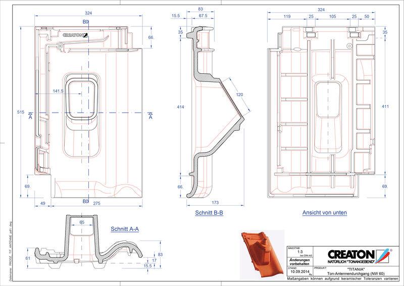 Produkt CAD-Datei TITANIA Antenne ANTENNE