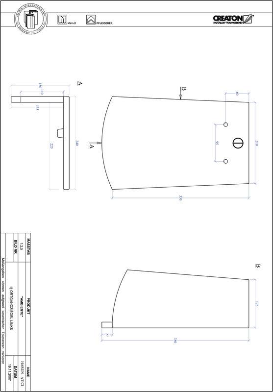 Produkt CAD-Datei AMBIENTE Segmentschnitt SEG-OGL-1-1-4