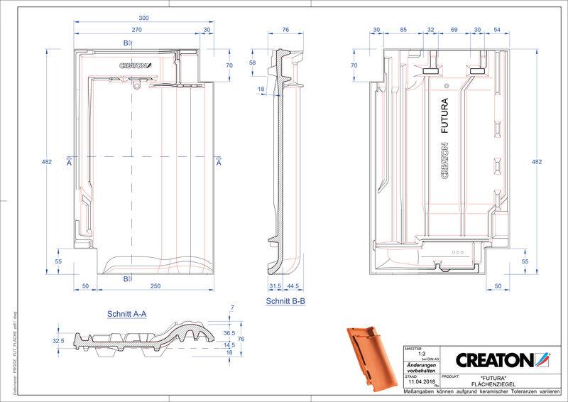 Produkt CAD-Datei FUTURA Fläche FLA