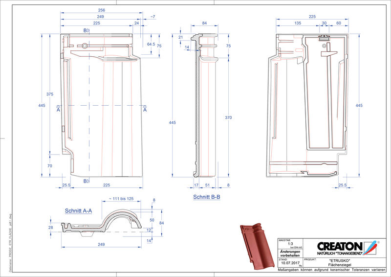 Produkt CAD-Datei ETRUSKO Fläche FLA