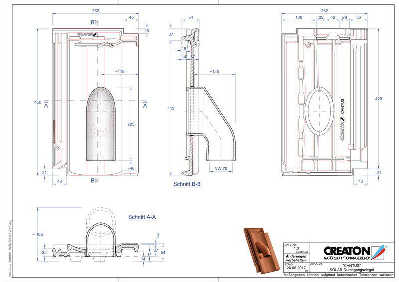 Produkt CAD-Datei CANTUS Solar SOLAR