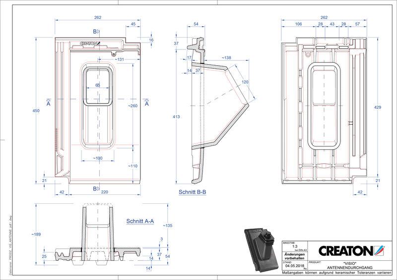 Produkt CAD-Datei VISIO Antenne ANTENNE