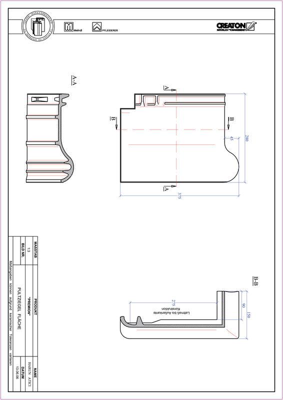 Produkt CAD-Datei PREMION Pultziegel PULT