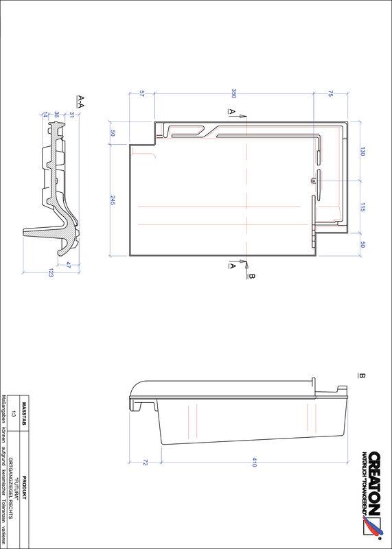 Produkt CAD-Datei FUTURA Ortgang rechts OGR