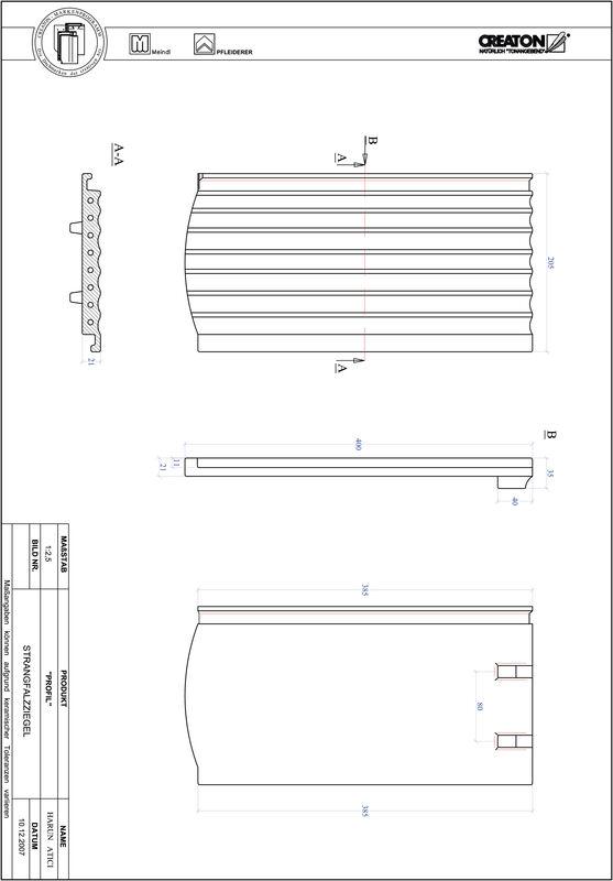 Produkt CAD-Datei PROFIL Segmentschnitt STRANGFALZ-GEWELLT-1-1